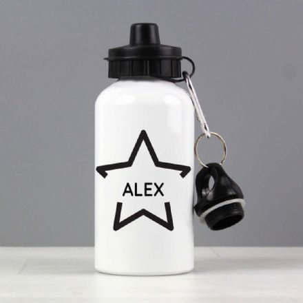Personalised Drinks Bottle -  Star